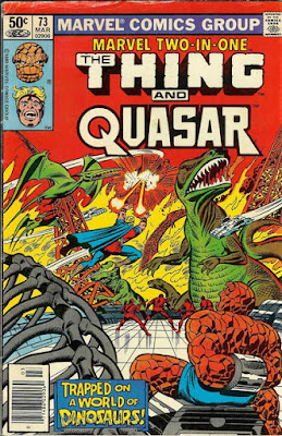 Marvel Two-In-One #73, the Thing and Quasar