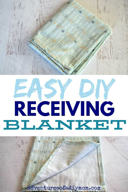 Make an EASY receiving blanket!