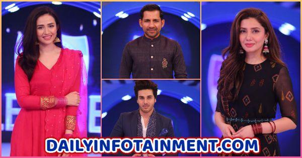Celebrities pictures from Jeeto Pakistan League (JPL) Grand Finale