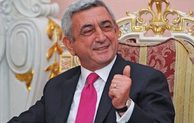 Serzh Sargsyan.