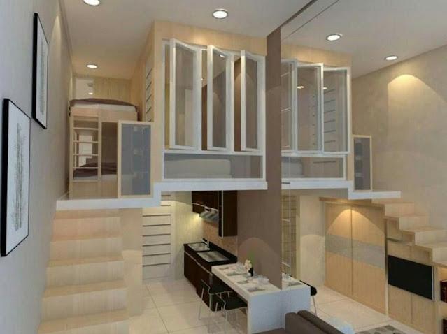 simple interior design for studio type room