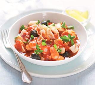 mediterranean squid recipe