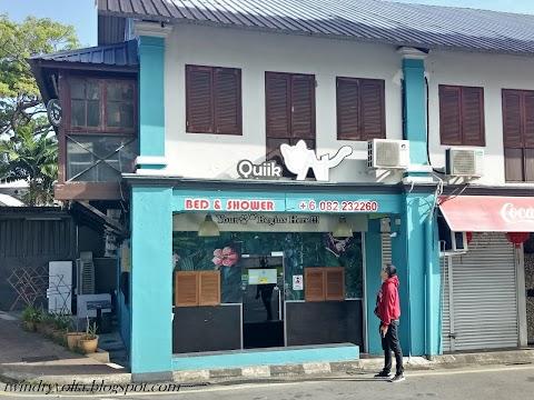 Review Penginapan : Quiik Cat Hostel (Kuching)