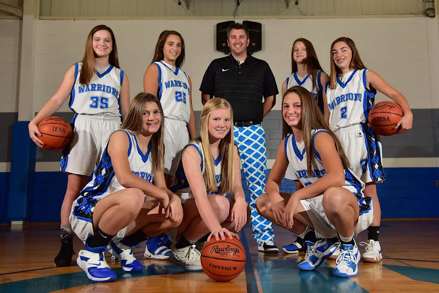 Ryan Davis GHMS Girls Basketball Coach of the Year, Metamora Herald