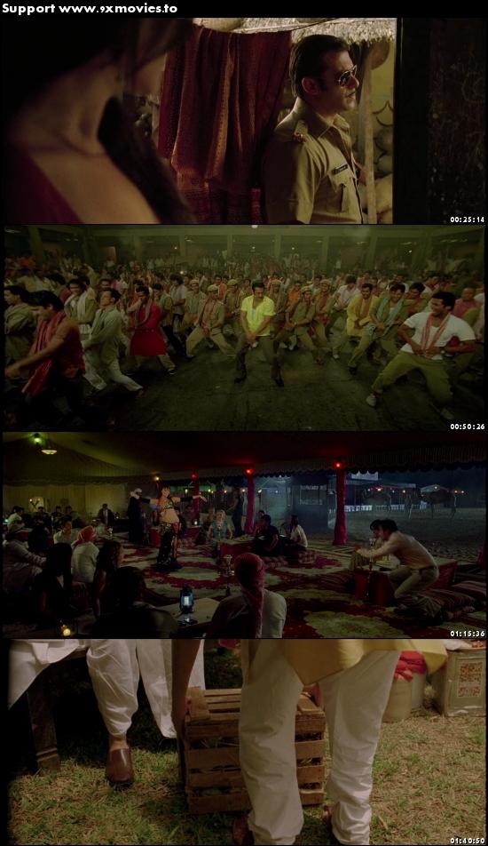 Dabangg 2010 Hindi 480p BluRay 350MB