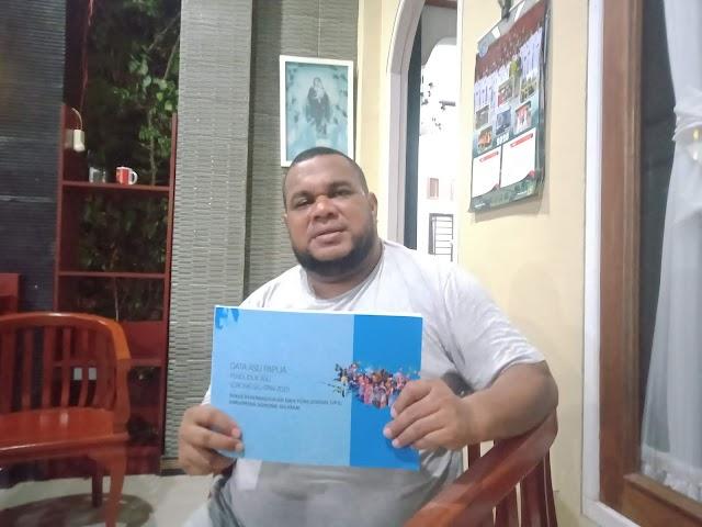 Dukcapil Sorong Selatan Terbitkan Buku Data Orang Asli Papua Ketiga Suku Besar Di Sorong Selatan (Tehit, Imekko, Maybrat)