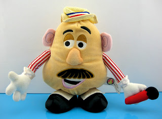 Toy Story Mania Boadwalk Barker Mr. Potato Head Plush