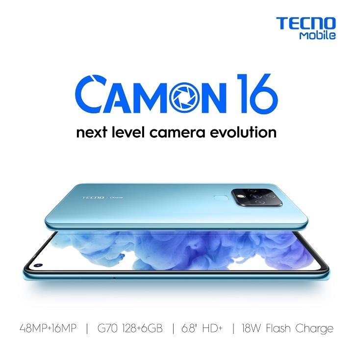 TECNO Camon 16: Sale 8.8
