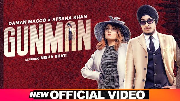 Gunman Song Lyrics   Daman Magoo   Afsana Khan    Latest Punjabi Songs 2020 Lyrics Planet