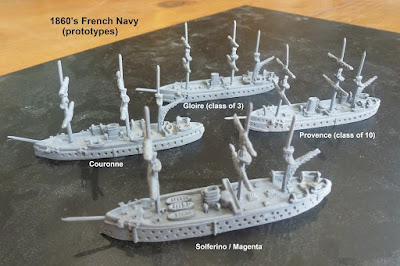Prototype French Ironclads from Spithead