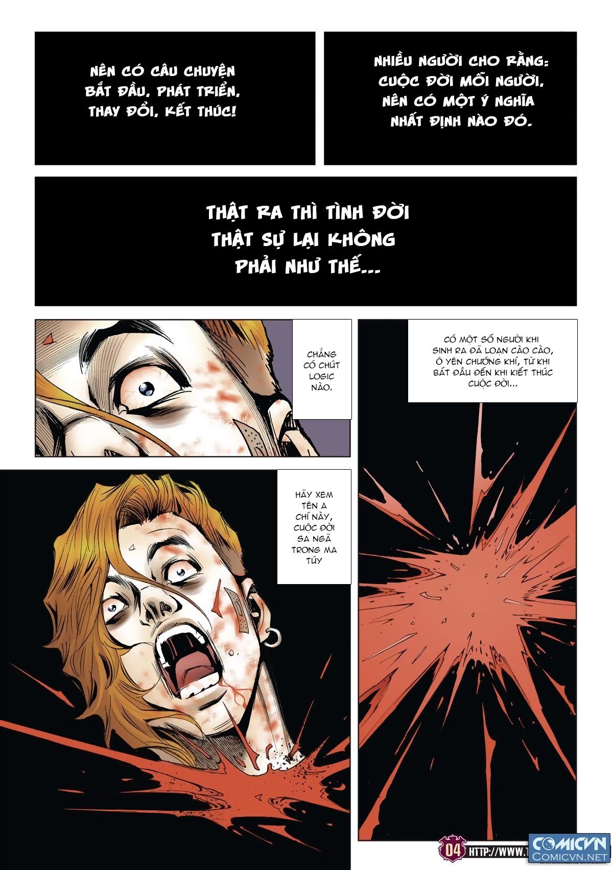 Người Trong Giang Hồ chapter 1985: bốc shit trang 3