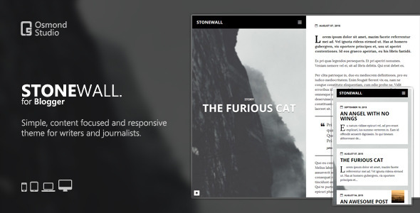 Download StoneWall: A Theme for Writers and Journalists   premium ...