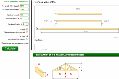 Cara Menghitung Rupa Rangka Atap Rumah Atau Bangunan-1