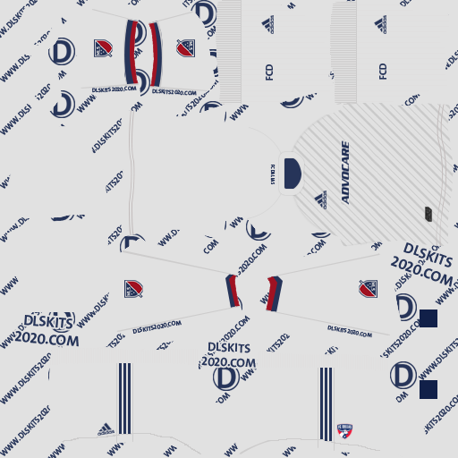 FC Dallas Away kits 2020 For Dream League Soccer 2020