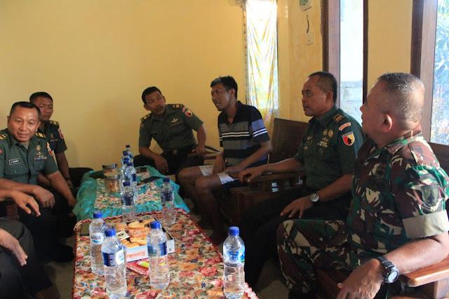 DANDIM 0812/LAMONGAN SAMBANG KE RUMAH PRAJURIT