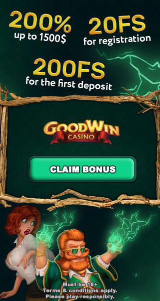 20 Free Spins No Deposit Bonus - GoodWin Casino