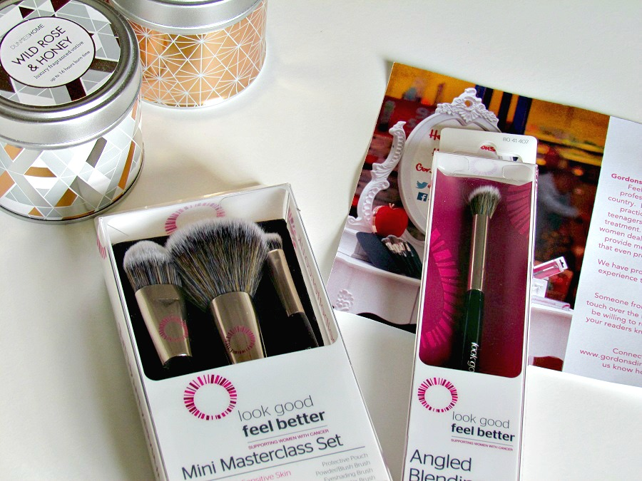 The look good feel better makeup brushes, review, beauty blog, Northern Ireland, Gordons Chemists