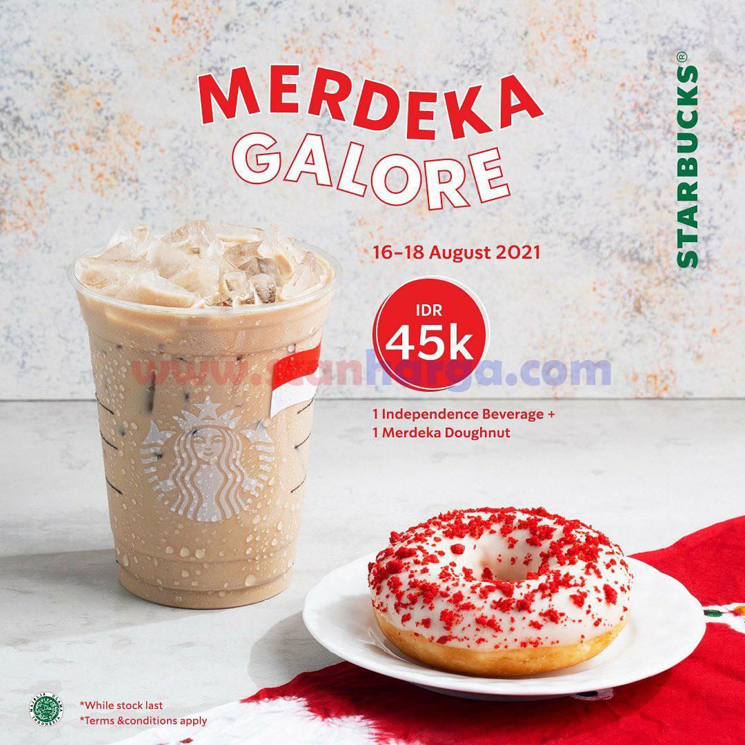 Promo STARBUCKS Terbaru MERDEKA GALORE 2