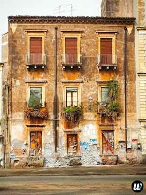 ruined building, Catania | Sicily, Italy | wayamaya