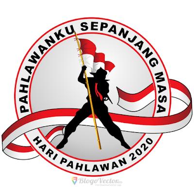 Hari Pahlawan 2020 Logo vector