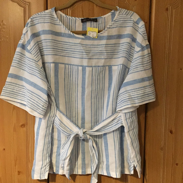 marks and spencer linen top