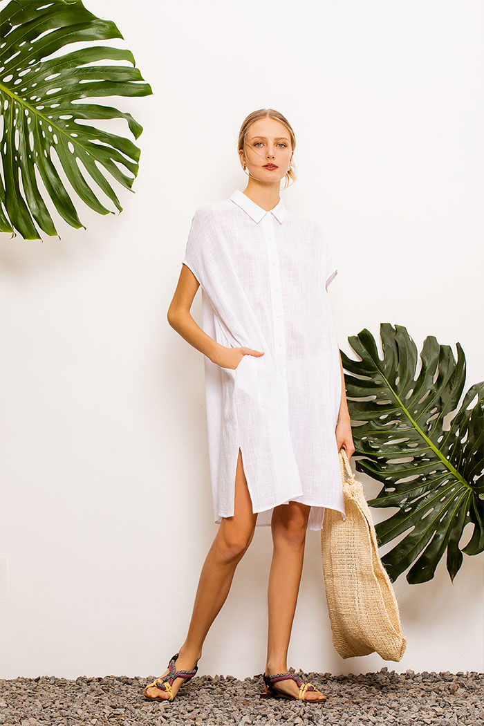 Vestidos camiseros primavera verano 2020. Moda 2020.