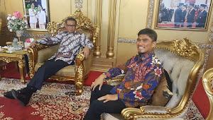 Kevin Banyak Menimbah Ilmu Prof Nurdin Abdullah