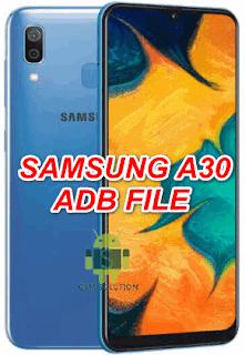 Samsung A30 SM-A305FN U2-U3 Eng Boot-Adb File