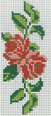 Image result for cross stitch rose borders