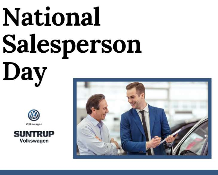 National Salesperson Day Wishes Beautiful Image