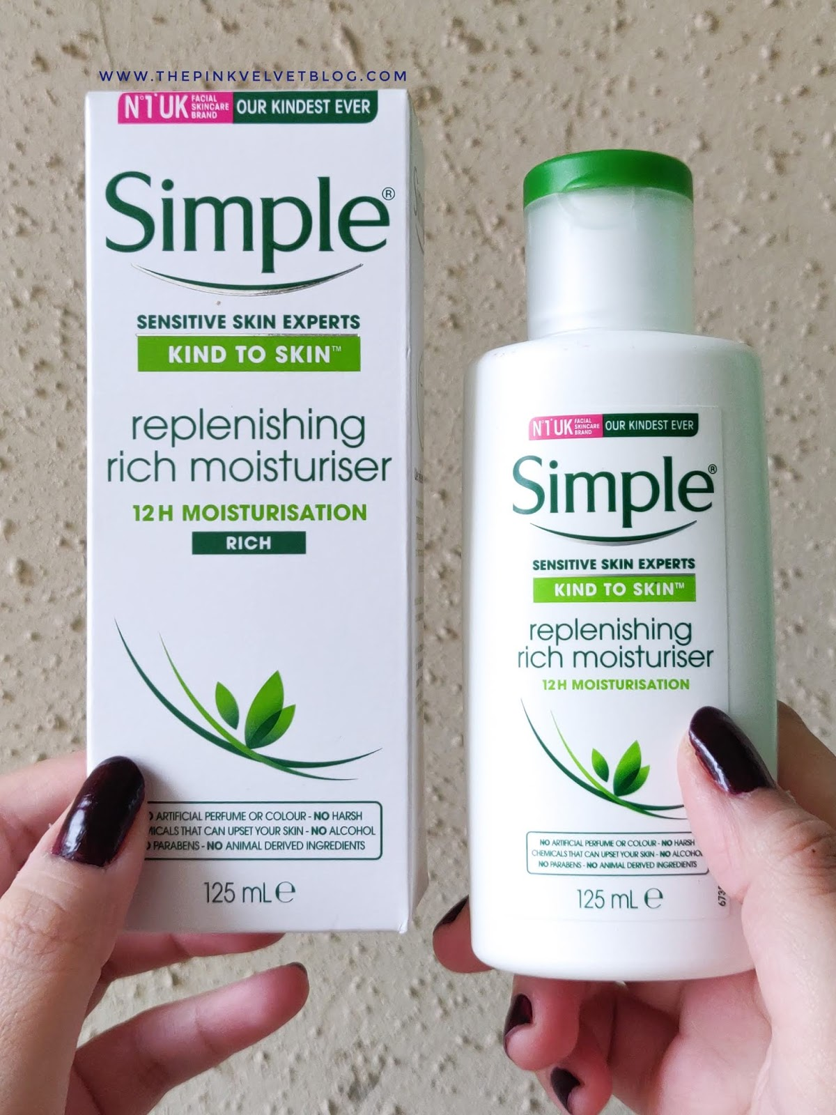 Simple Replenishing Rich Moisturizer - Review | Sensitive Skin Experts