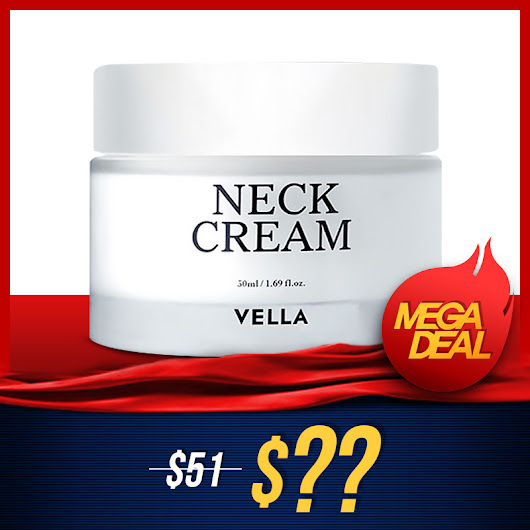 [MEGADEAL] Vella Neck Cream - Special Care for your neck skin!