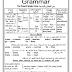 مذكرة شرح قواعد اللغة الانجليزية (الصف الثالث الاعدادى ) للشهادة الاعدادية الفصل الدراسى الثانى