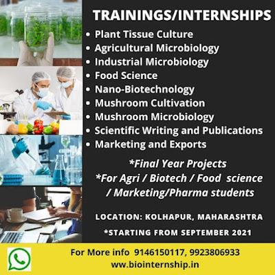 Microbiology Student Internships