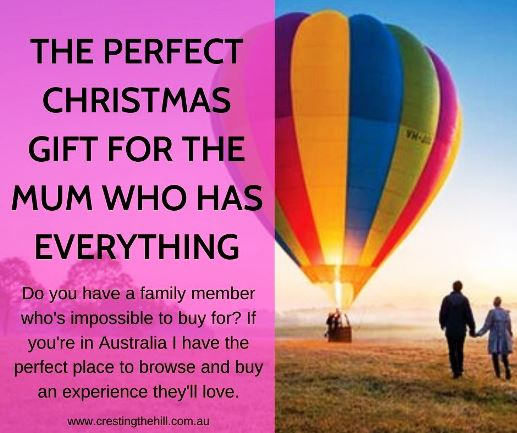 Do you have a family member who's impossible to buy for? If you're in Australia I have the perfect place to browse and buy an experience they'll love.