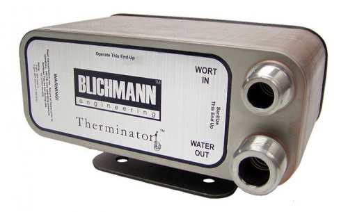 best plate wort chiller - therminator