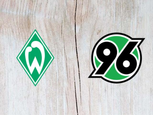 Werder Bremen vs Hannover 96 - Highlights - 25 August 2018