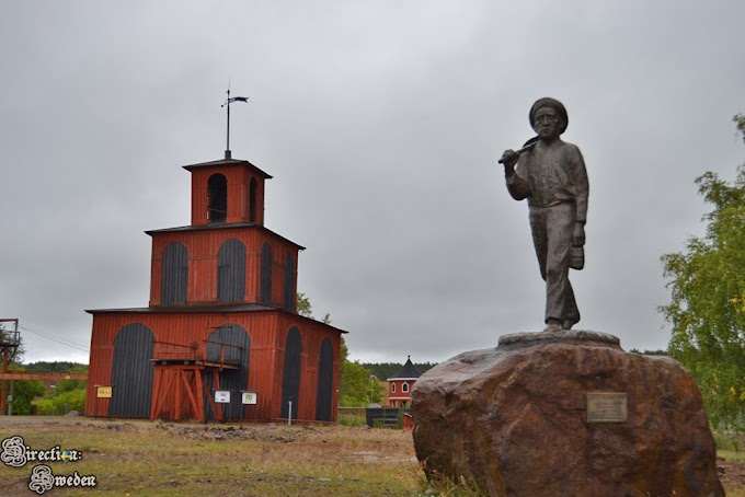 Kopalnia miedzi w Falun