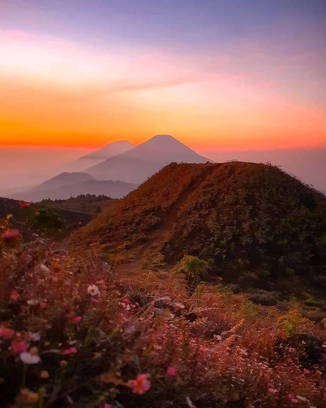 gunung prau ditutup - foto yedijatiez