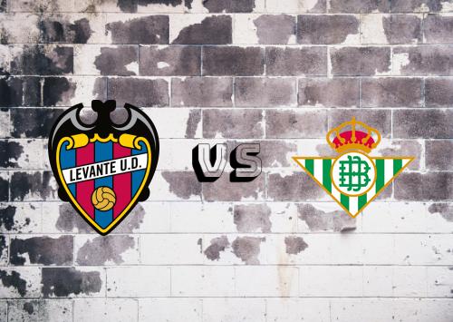 Levante vs Real Betis  Resumen
