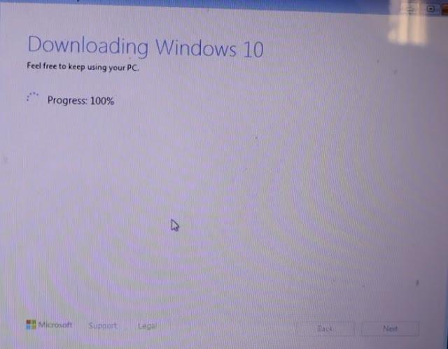 تحديث ترقية ويندوز 7 إلى الويندوز 10 دون فورمات أو usb / dvd وبدون فقدان الملفات والبرامج