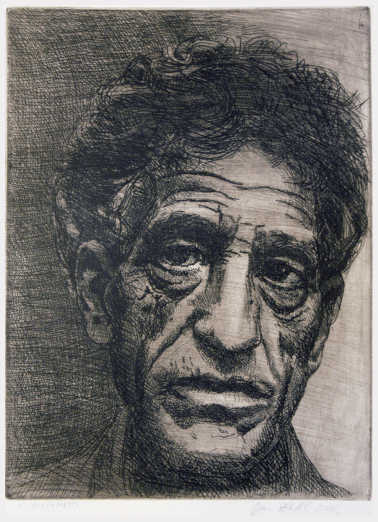 Giacometti created sculptures that were miniature in size