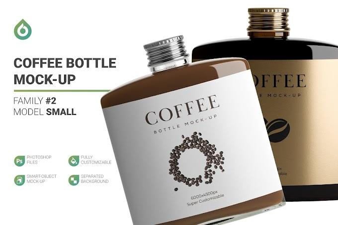 Coffee Bottle Mockup[Photoshop][PSD][4966018]