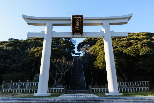 大洗磯前神社(茨城)・二の鳥居