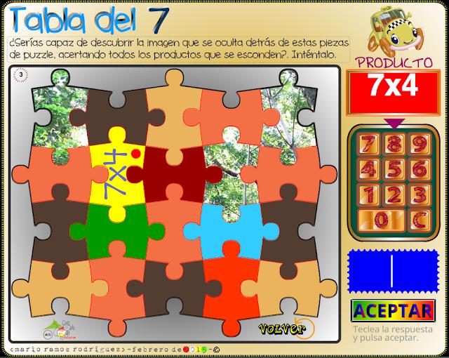 Juegos Para Aprender Las Tablas De Multiplicar Aula De Elena