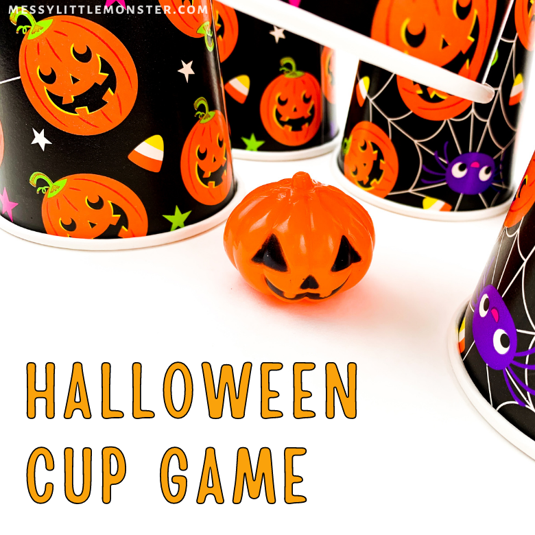 Halloween cup game