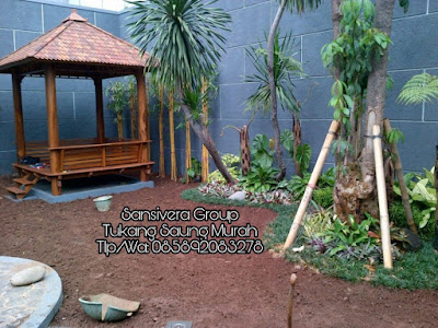 Proses Pengerjaan Taman