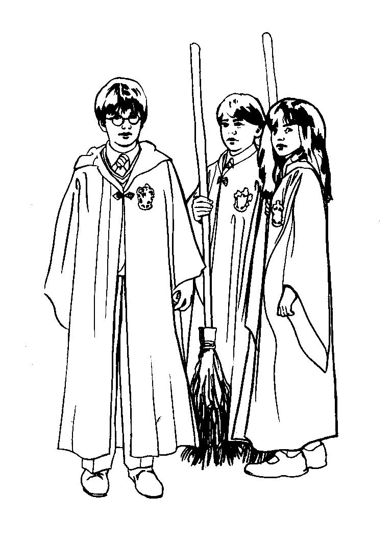 Ausmalbilder Harry Potter Und Die Heiligtümer Des Todes