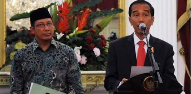 Jokowi Hentikan Pidato saat Azan, Menag: Kok Dituduh Membenci Azan?