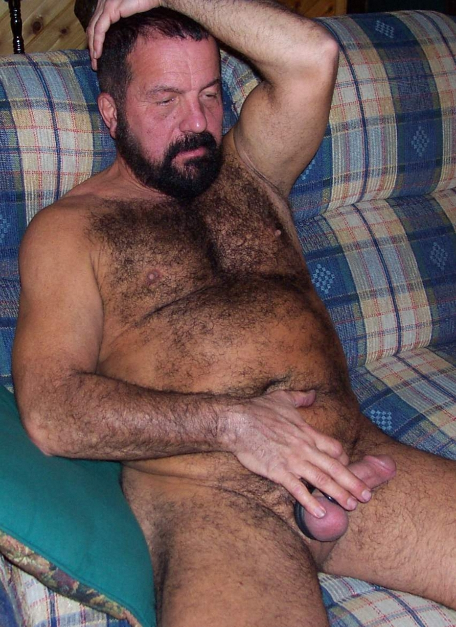 Naked gay bear